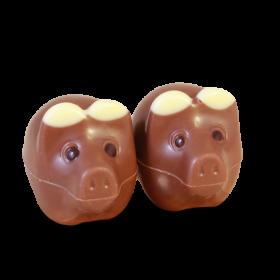 2er Glücksschweinchen