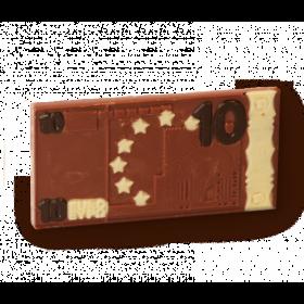 Schokoladen Euro Geldschein