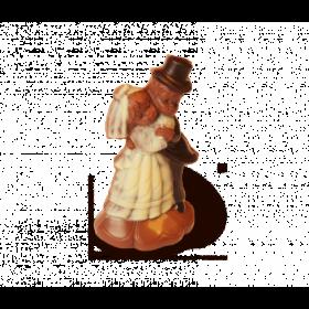 Schokoladenfigur Brautpaar