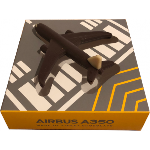 Airbus A350 Zartbitterschokolade