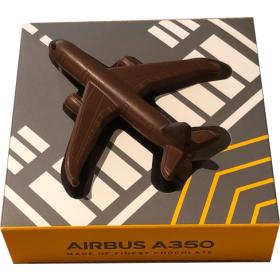 Airbus A350 Vollmilchschokolade
